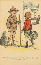 Cartolis  - Toto meets a superb boy-scout who tells him with p ...